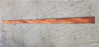 Lamelle azobe 0.6 10 350 cm