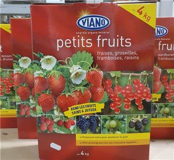 Viano Engrais fruits 4 kg