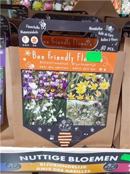 Bulbes utiles Abeilles * 40 pc(VT) ** A planter en automne **