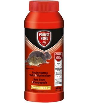 Appat poisons Mulot, campagnols et rats appât Pâteux Protect Home