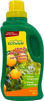 Ecostyle Engrais liquide Agrumes et Oliviers 500 ml BIO