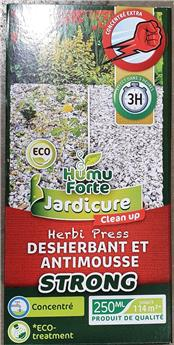 Jardicure Strong 250 Ml Herbicide total BIO Humuforte ** Sans Glyphosate **
