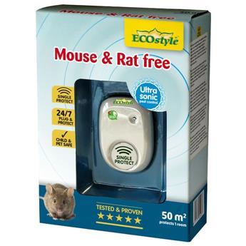 Souris et rat Free 50 Battery Ultrason répulsif