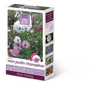 Prairie Fleurie Champêtre 60 g 7 M² Nova Flore