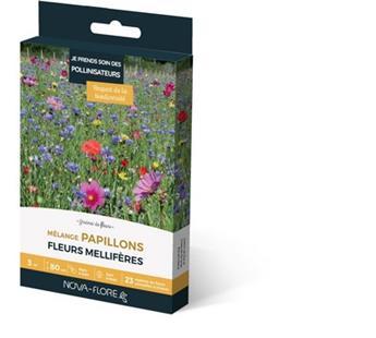 Prairie Fleurie 16g 3 M² Amis Du Jardin-Papillon Nova Flore
