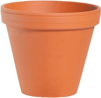 Pot Terre Cuite Simple D 24 H 21 cm Spang
