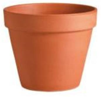 Pot Terre Cuite Simple 34 Spang D34Cm H27Cm