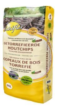 Sani Copeaux chips 10 40 mm 60 L bois torrefié