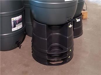 Support tonneau eau pluie
