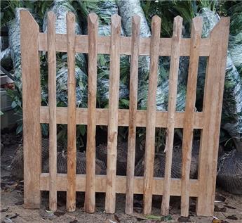 Porte châtaigner ht 100 l 140 cm