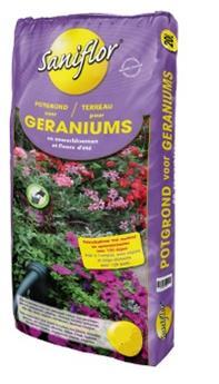Saniflor terreau Geranium 40L