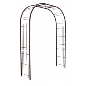 Arche premium décor treillage 195/50/250 fer vieilli