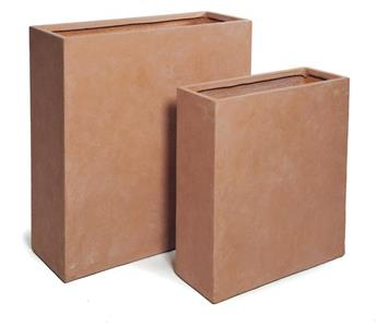 Clayfibre Terrace Part Terracotta L80 W30 H92 (Mg)