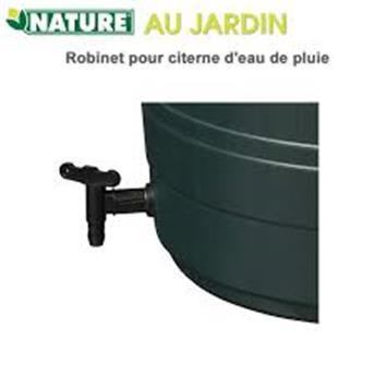 Robinet polyethylene noir