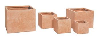 Clayfibre cubi Terracotta W23H23